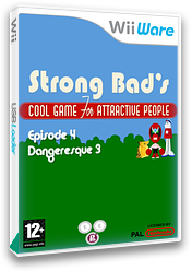 Strong Bad Episode 4: Dangeresque 3 WiiWare cover (WB2P)