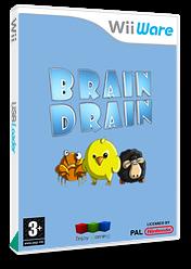 Brain Drain WiiWare cover (WBDP)