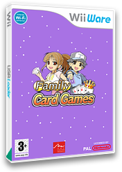 Family Card Games WiiWare cover (WF5P)