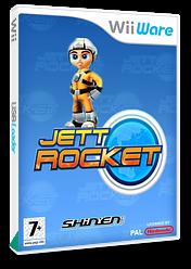 Jett Rocket WiiWare cover (WJEP)