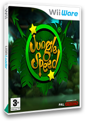 Jungle Speed WiiWare cover (WJSP)
