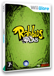 Rabbids Lab WiiWare cover (WR2P)