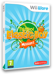 Tales of Elastic Boy Mission 1 WiiWare cover (WTEP)
