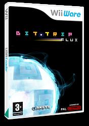Bit.Trip Flux WiiWare cover (WTFP)