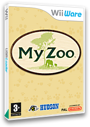 My Zoo WiiWare cover (WZHP)