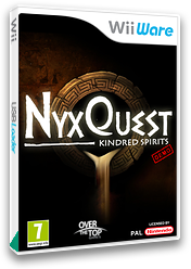 NyxQuest: Kindred Spirits (Demo) WiiWare cover (XHDP)