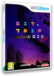 BIT.TRIP VOID (Demo) WiiWare cover (XHWP)