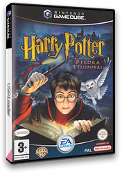 Harry Potter y la Piedra Filosofal GameCube cover (GHLZ69)