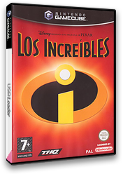 Los Increíbles GameCube cover (GICP78)