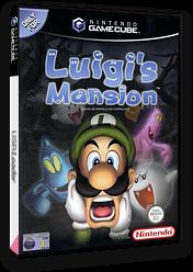 Luigi's Mansion GameCube cover (GLMP01)