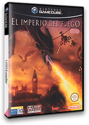 El Imperio del Fuego GameCube cover (GR9P6L)
