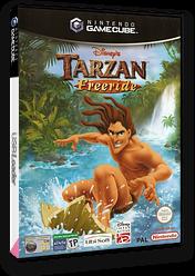 Tarzan Freeride GameCube cover (GTZP41)
