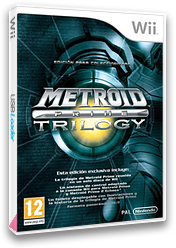 Metroid Prime: Trilogy Wii cover (R3MP01)