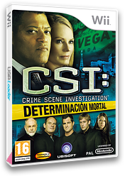 CSI: Determinación Mortal Wii cover (R5UP41)