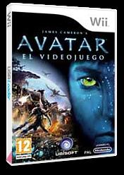 James Cameron's Avatar: El Videojuego Wii cover (R5VX41)