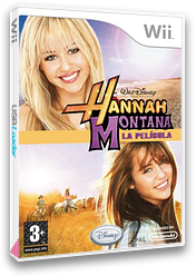 Hannah Montana: La Película Wii cover (R8HX4Q)