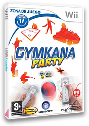 Gymkana Party Wii cover (R8SP41)