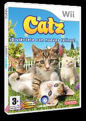 Catz: Diviértete con Nuevos Felinos Wii cover (RC3P41)