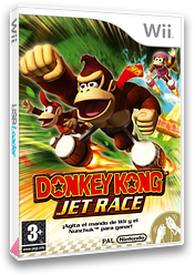 Donkey Kong Jet Race Wii cover (RDKP01)