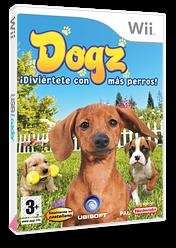 Dogz: ¡Diviértete con Más Perros! Wii cover (RDOX41)