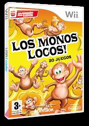 ¡Los Monos Locos! Wii cover (RFVP52)