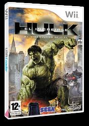 El Increíble Hulk Wii cover (RIHP8P)