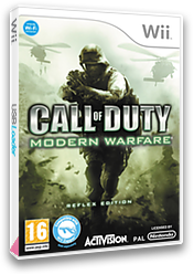 Call of Duty: Modern Warfare: Reflex Wii cover (RJAP52)