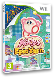 Kirby's Epic Yarn Wii cover (RK5P01)