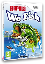 Rapala: We Fish Wii cover (ROJP52)