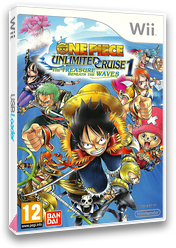 One Piece - Unlimited Cruise 1: El Tesoro Bajo las Olas Wii cover (ROUPAF)