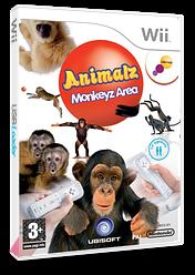 Animalz: Monkeyz Area Wii cover (RP6P41)