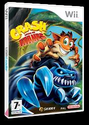 Crash: Lucha de Titanes Wii cover (RQJP7D)