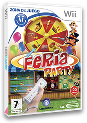 Feria Party Wii cover (RQKP41)