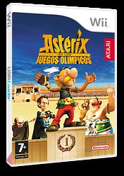 Astérix en los Juegos Olímpicos Wii cover (RQXP70)
