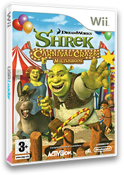 Shrek Carnival Craze: Multijuegos Wii cover (RRQP52)