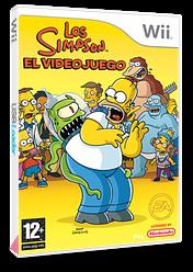 Los Simpson: El Videojuego Wii cover (RSNP69)