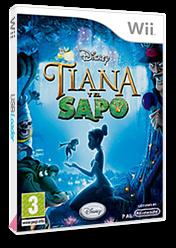 Tiana y el Sapo Wii cover (RU5P4Q)