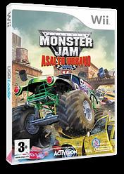 Monster Jam: Asalto Urbano Wii cover (RUAP52)