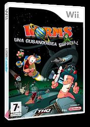 Worms: Una Gusanodisea Espacial Wii cover (RWMP78)