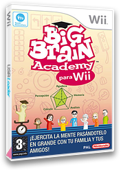 Big Brain Academy para Wii Wii cover (RYWP01)