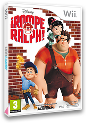 Rompe Ralph Wii cover (S6RP52)