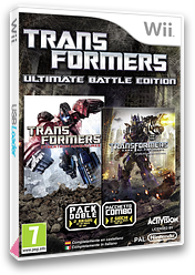 Transformers: Ultimate Battle Edition Wii cover (S7EP52)