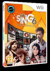 Let's Sing 6 - Versión Española Wii cover (S7JPKM)