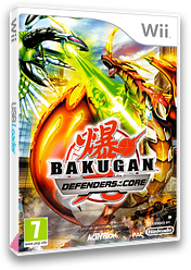 Bakugan: Defensores de la Tierra Wii cover (SB6P52)