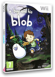 A Boy and His Blob Wii cover (SBLP5G)