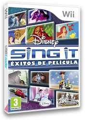 Disney Sing It: Éxitos de película Wii cover (SDFP4Q)