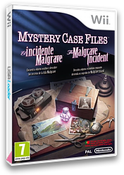 Mystery Case Files: El Incidente Malgrave Wii cover (SFIP01)