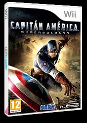 Capitán América:Supersoldado Wii cover (SFQP8P)