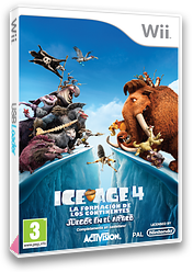 Ice Age 4:La formación de los continentes - Juegos en el Artico Wii cover (SIAP52)