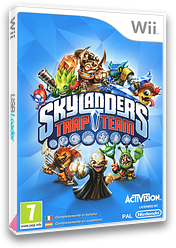 Skylanders: Trap Team Wii cover (SK8I52)